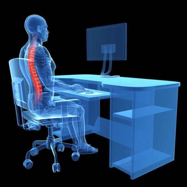 Gyógytorna, munkahelyi ergonómia